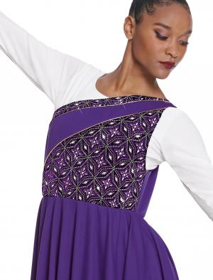ab5ea74317a8 Praise Dancewear · Eurotard Adult Divine Royalty Asymmetrical Praise Tunic