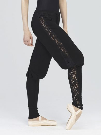 Soft Knit Lace Pants