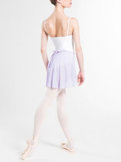 Faux Wrap Skirt
